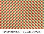 3d cubes patterns background    ...   Shutterstock . vector #1263139936