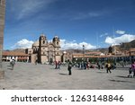 cuzco  per   july 21 of 2005 ... | Shutterstock . vector #1263148846