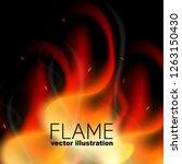 vector illustration. realistic...   Shutterstock .eps vector #1263150430