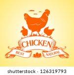 best chicken design template. | Shutterstock .eps vector #126319793