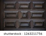 closeup of a locked and closed... | Shutterstock . vector #1263211756