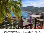 view at st. thomas harbor | Shutterstock . vector #1263242476
