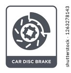 car disc brake icon vector on... | Shutterstock .eps vector #1263278143