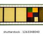 vintage film stock for still... | Shutterstock . vector #1263348040