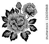 rose  pattern | Shutterstock . vector #126334868