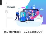 business series  color 2  ... | Shutterstock .eps vector #1263355009
