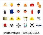 set of icons of different... | Shutterstock .eps vector #1263370666