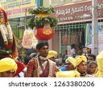 tiruchanur  tirupathi ... | Shutterstock . vector #1263380206