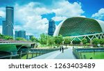 singapore  singapore   march 1  ... | Shutterstock . vector #1263403489