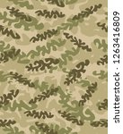 camouflage pattern background... | Shutterstock .eps vector #1263416809
