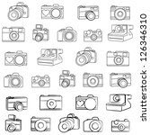 large vector camera set with...
