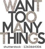 slogan fashion  vector   Shutterstock .eps vector #1263664306