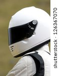 a mystery racing driver in a... | Shutterstock . vector #126367070