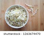 fresh and clean mung bean... | Shutterstock . vector #1263674470