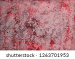pretty red very much retro wall ... | Shutterstock . vector #1263701953