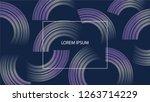 minimal geometric background.... | Shutterstock .eps vector #1263714229