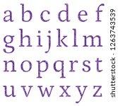 rustic metallic purple classic... | Shutterstock . vector #1263743539