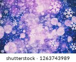 abstract bokeh background.... | Shutterstock . vector #1263743989