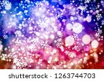 abstract christmass winter... | Shutterstock . vector #1263744703