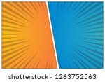 versus battle template with two ... | Shutterstock .eps vector #1263752563