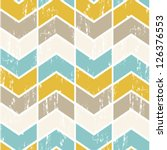seamless vector chevron pattern.... | Shutterstock .eps vector #126376553