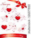 hearts set | Shutterstock . vector #126377810