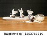 personal pop cake | Shutterstock . vector #1263783310