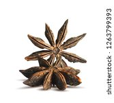 fragrant and tasty anise star.... | Shutterstock .eps vector #1263799393