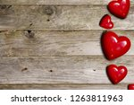 romantic background with... | Shutterstock . vector #1263811963