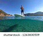 porto rafti  attica   greece  ... | Shutterstock . vector #1263830509