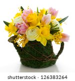 Bouquet Of Spring Flowers For...