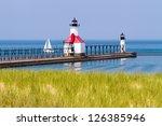 St. Joseph  Michigan North Pier ...