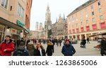 munich  germany  circa january... | Shutterstock . vector #1263865006