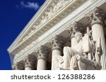 the united states supreme court ... | Shutterstock . vector #126388286