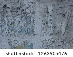 old peeling paint wall | Shutterstock . vector #1263905476
