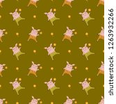 pig pattern  | Shutterstock .eps vector #1263932266