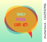 handwriting text family medical ... | Shutterstock . vector #1263932986