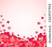 happy valentine's day abstract... | Shutterstock .eps vector #1263937903