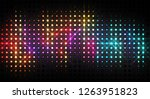 abstract shiny background.... | Shutterstock . vector #1263951823