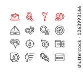 vector illustration of 16... | Shutterstock .eps vector #1263993166
