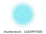light blue vector template with ... | Shutterstock .eps vector #1263997000