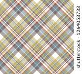 check fabric texture diagonal... | Shutterstock .eps vector #1264053733
