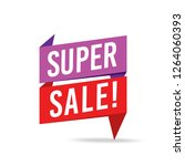 sale and special offer tag ... | Shutterstock .eps vector #1264060393