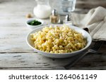 mac and cheese | Shutterstock . vector #1264061149