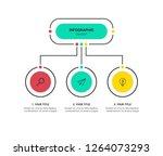presentation business... | Shutterstock .eps vector #1264073293