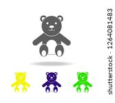 teddy bear colored icons....