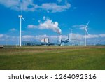 wind energy holland | Shutterstock . vector #1264092316