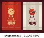 vector cover for your bbq and... | Shutterstock .eps vector #126414599