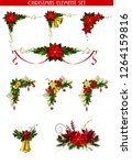 christmas elements for your... | Shutterstock .eps vector #1264159816
