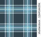 seamless blue tartan plaid... | Shutterstock .eps vector #1264166206